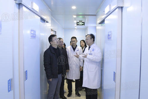 中国核工业416医院专家组莅临我院参观交流